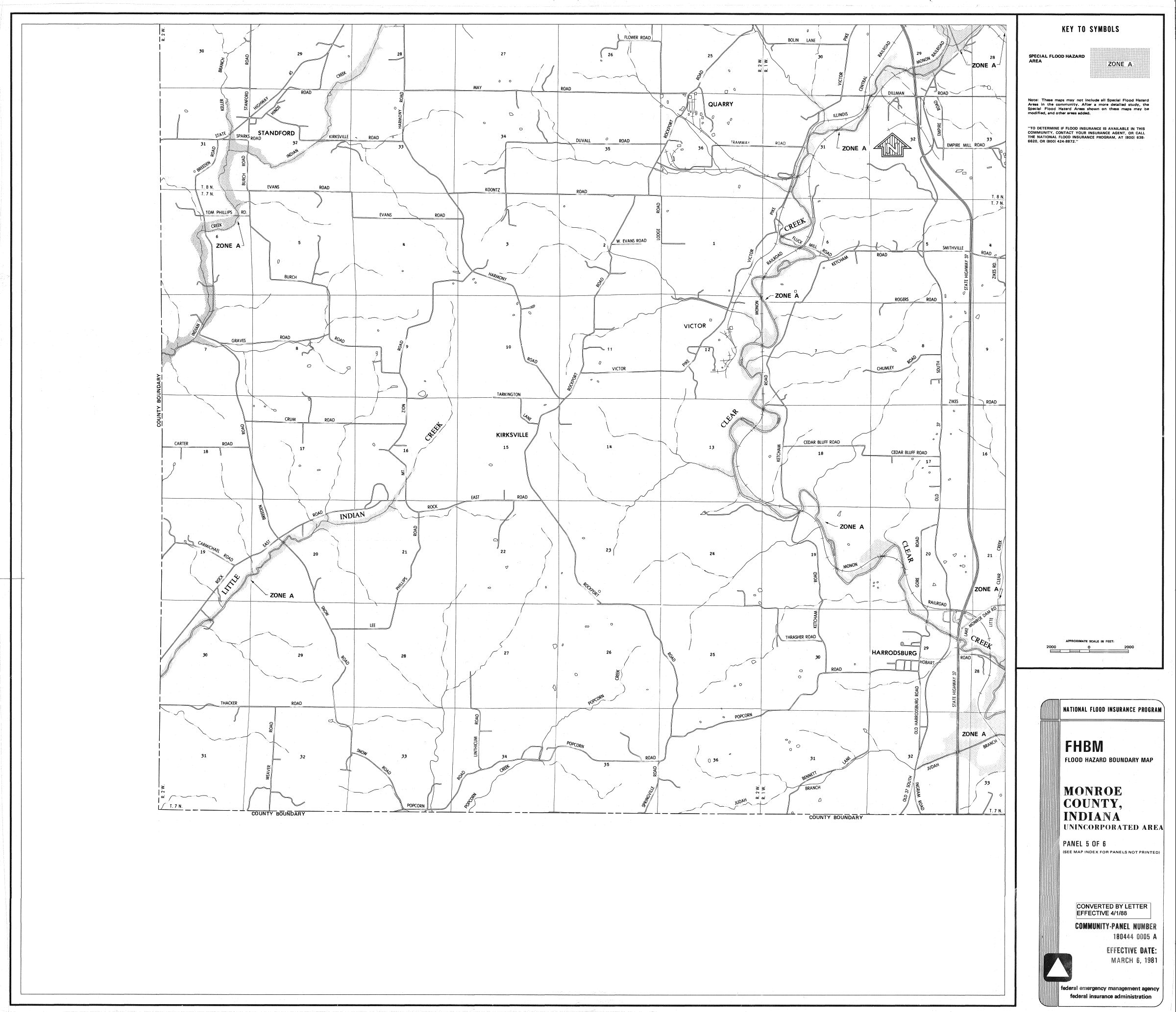 Guide Flood Maps Indiana University Libraries - Flood hazard boundary map